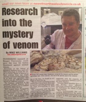 Venom mystery